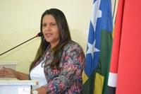 Adilma Lisboa, explana sobre a atual situação dos agentes de saúde e endemias do município