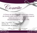 Convite: CML homenageia mulheres pelo Dia Internacional da Mulher