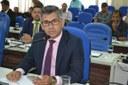Na sessão desta quinta-feira, 24, em virtude da ausência do Presidente Ibrain Monteiro, assumiu a presidência, interinamente, Fábio Frank