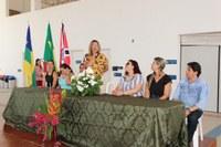 O Diretor da ELEGE, Prof. M.e. Rogério Reis Benedito participou da Jornada Pedagógica de Lagarto.