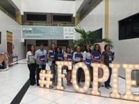 Prof. Me. Rogério Reis, diretor da Escola do Legislativo de Lagarto, participou do 13º FOPIE na tarde da segunda-feira